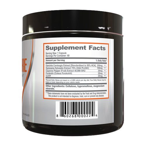 ThermoPure Ingredients Label